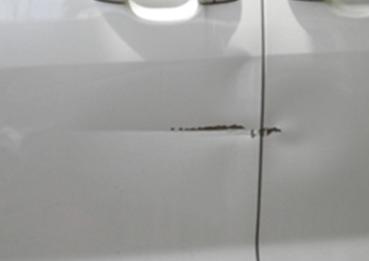 車検+板金塗装