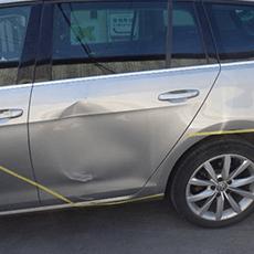 VW パサート板金・修理事例